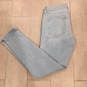 Frame Le Jeanne Skinny Crop Jean